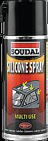 Силиконовая смазка-спрей Soudal Silicone Spray 400мл