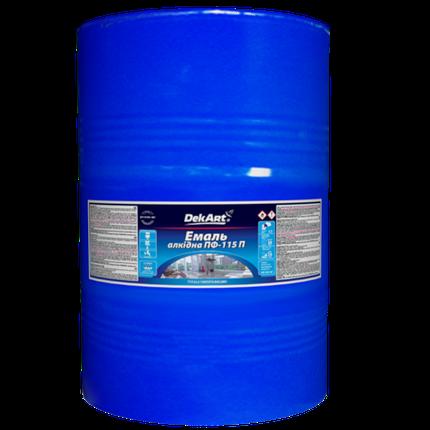 Эмаль алкидная ПФ-115П синяя, 50кг, фото 2