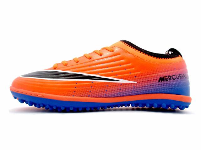 Футбольные сороконожки Nike Mercurial Victory TF Orange/Black/Blue