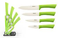 Набор ножей 5 пр. LIME на акриловой подставке (керамические лезвия)