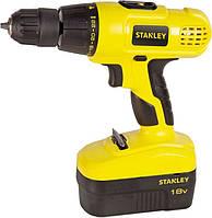 Шуруповерт аккумуляторный Stanley STDC18HBK