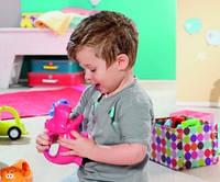 Детский фонарик Веселые животные Корова с подсветкой и звуком Little Tikes