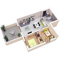 Зональность в проектировании (планировании) квартир