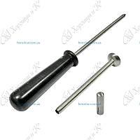 Троакар 12 см - 7 мм с пластиковой ручкой