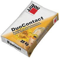 Баумит ДуоКонтакт Клеющая смесь для приклеивания и защиты теплоизоляции (ППС), 25кг