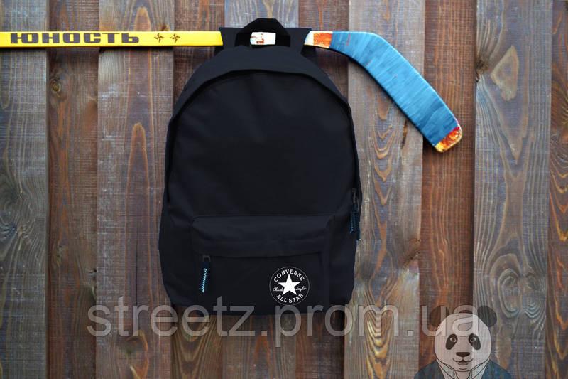 Рюкзак Converse городской черный, портфель унисекс