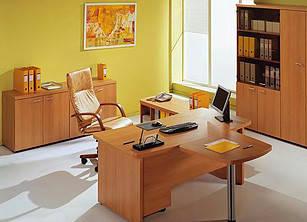 Офісні корпусні меблі: кабінети, столи, шафи,стелажі (дсп, мдф, дерево)