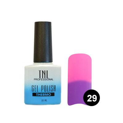 """Гель-лак TNL - """"Тhermo"""" №29 - фиолетовый/ярко-розовый (10 мл.)"""