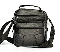 Мужская сумка - барсетка натуральная кожа PU кожа 7022