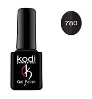 Гель-лак Kodi Moon Light №780 с эффектом кошачий глаз (черный с шиммером) 8мл