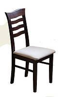 Прочный деревянный стул из массива хвойных пород деревьев. Модель ЖУР-6