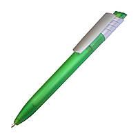 Ручка пластиковая 149х13, чернила синие, цвет ручки Светло-зеленый