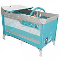 Манеж-кровать Baby Design Dream Turquoise