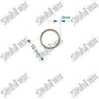 Кольцо литое 15мм №8294