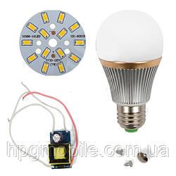 Светодиодная (LED) лампа SQ-Q22 5730 7 Вт, теплый белый, E27 (комплект)