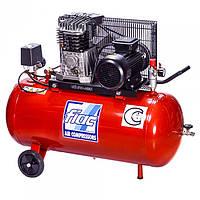 Компрессор поршневой с ременным приводом, Vрес=100л, 360л/мин, 380V, 2,2кВт