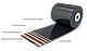 Лента конвейерная (транспортерная) трудновоспламеняющаяся  в т.ч. 1.2Ш - 800-3-ТК-200-2-6-3,5-Г1-РБ ГОСТ 20-85, фото 4