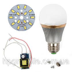 Светодиодная (LED) лампа SQ-Q22 5730 7 Вт, холодный белый, E27 (комплект)