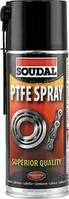 Проникающе-смазывающий аэрозоль Soudal PTFE (Teflon®) Spray 400мл