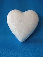 Пенопластовые сердца, 10х2 см , 7