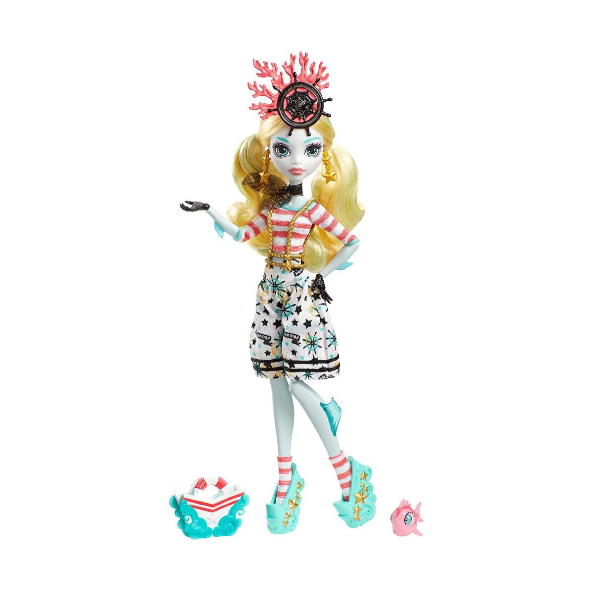 Mattel Monster High Кукла Лагуна Блю Lagoona Blue - Кораблекрушение