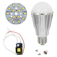 Светодиодная (LED) лампа SQ-Q17 5730 7 Вт, холодный белый, E27 (комплект)