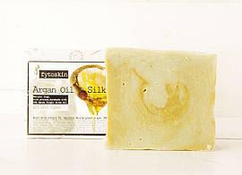 Натуральное оливковое мыло с маслом Арганы и Шелком (E&A Pure Beauty), 95g., Греция