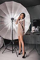 Женское короткое бархатное платье на запах. Цвет: графит,золото,черный. Материал бархат. Размер: ХS-L