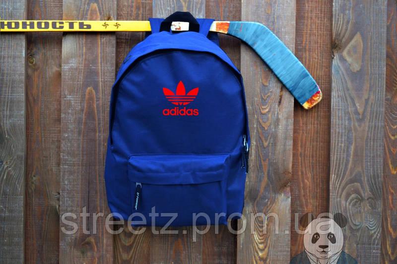 Голубой рюкзак синий Converse, портфель городской