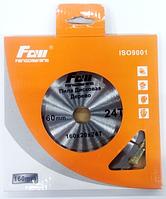 Пильный диск по дереву FOW 160x20x24z (Продольный и поперечный рез)