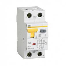 Автоматический выключатель дифференциального тока АВДТ32М С6 10мА ИЭК. IEK