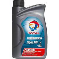 Трансмиссионное масло TOTAL TRANSMISSION SYN FE 75W90 1L