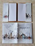 Обложка на биометрический, заграничный или внутренний паспорт с принтом, фото 2