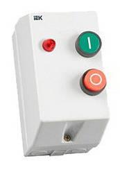 Контактор КМИ10960 9А в оболочке с индик. Ue=230В/АС3 IP54 ИЭК.