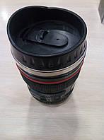 Стильная термокружка в виде объектива для фотографа.