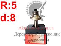 R5 d8 Фреза AКУЛА pobedit кромочная калевочная