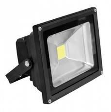 Прожектор LED COB черный 20W 6500K classic EUROLAMP.