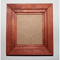 Рамка деревянная формат А-7 (темное дерево)
