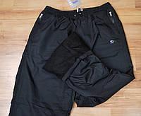Мужские утепленные спортивные штаны (плащевка+флис) (большой размер)  AVIC