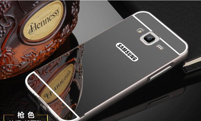 Алюминиевый чехол бампер для Samsung Galaxy J3-J300H ( 2015 год)