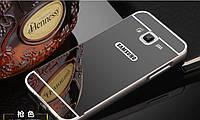 Алюминиевый чехол бампер для Samsung Galaxy J3-J300H ( 2015 год), фото 1