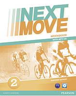 Рабочая тетрадь Next Move 2 Workbook + CD
