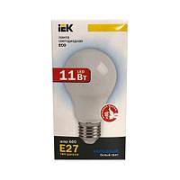Лампа светодиодная ECO A60 шар 11Вт 230В 4000К E27 IEK.