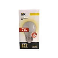 Лампа светодиодная ECO G45 шар 7Вт 230В 3000К E27 IEK.