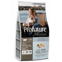 Сухой корм для котов Pronature Holistic (Пронатюр Холистик) с атлантическим лососем и коричневым рисом, 2,72кг
