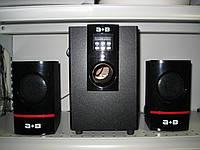 Акустическая система 2.1 А+B YG-USB11