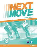 Рабочая тетрадь Next Move 3 Workbook + CD