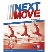 Рабочая тетрадь Next Move 4 Workbook + CD