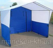 Торговая палатка 4х2м (6 опор) каркас без ткани, фото 2