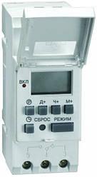 Таймер ТЭ 15 цифровой 16А 230В на DIN-рейку ИЭК. IEK